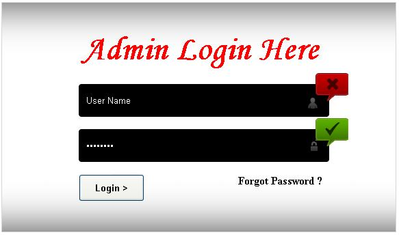 PHP Tutorial Online: Creating a Admin Login form
