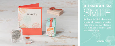 Reason to Smile Stampin' Up! Promotion