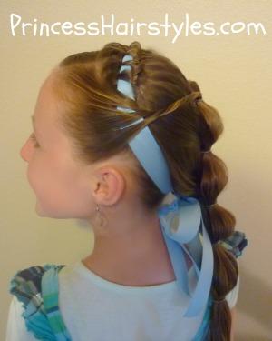 Jasmine Hairstyles For Short Hair : Kids Hair Styles: Kids Hair Styles Cute and different braid by using ...