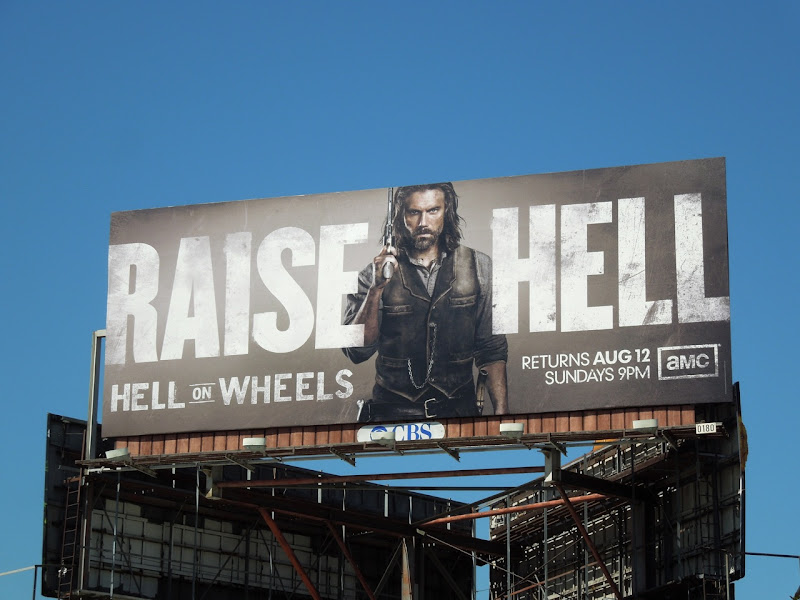 Raise Hell on Wheels season 2 billboard