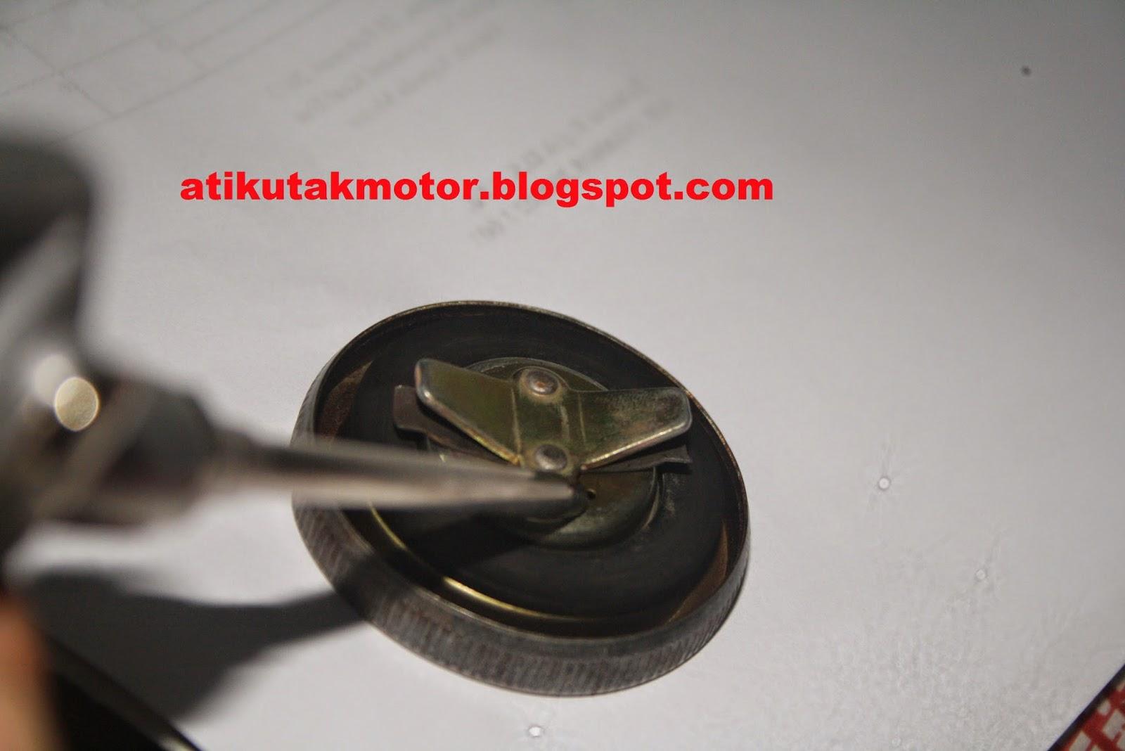 penyebab motor mogok dari tutup tangki | utak - atik sepeda motor