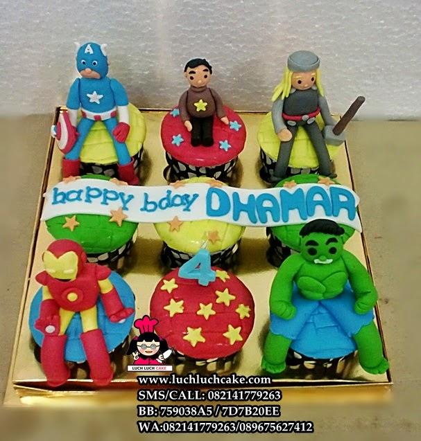 Cupcake Avengers Iron man, hulk, captain america, thor  Daerah Surabaya - Sidoarjo