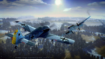 Screen Shot Of Dogfight 1942 (2012) Full PC Game Free Download At Downloadingzoo.Com
