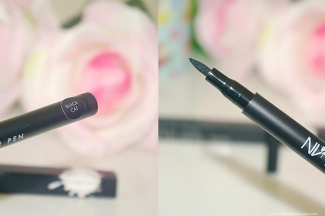 NV Colour Felt Tip Eyeliner Pen in Black Cat