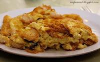 Prawn Omelete