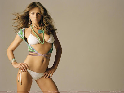 Elizabeth Hurley Bikini Wallpaper
