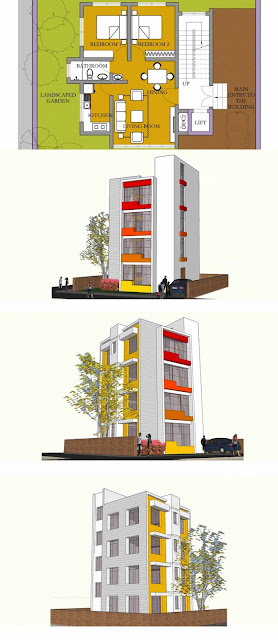 Apartment Building Plans Design