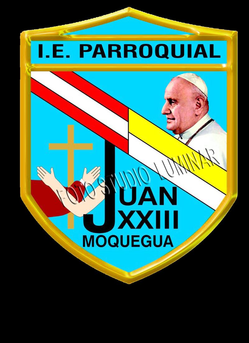 DEPORTES LUMINAR: LOGO I.E.P. JUAN XXIII MOQUEGUA