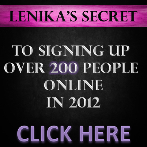 How I Signed Up Over 200 ppl Online