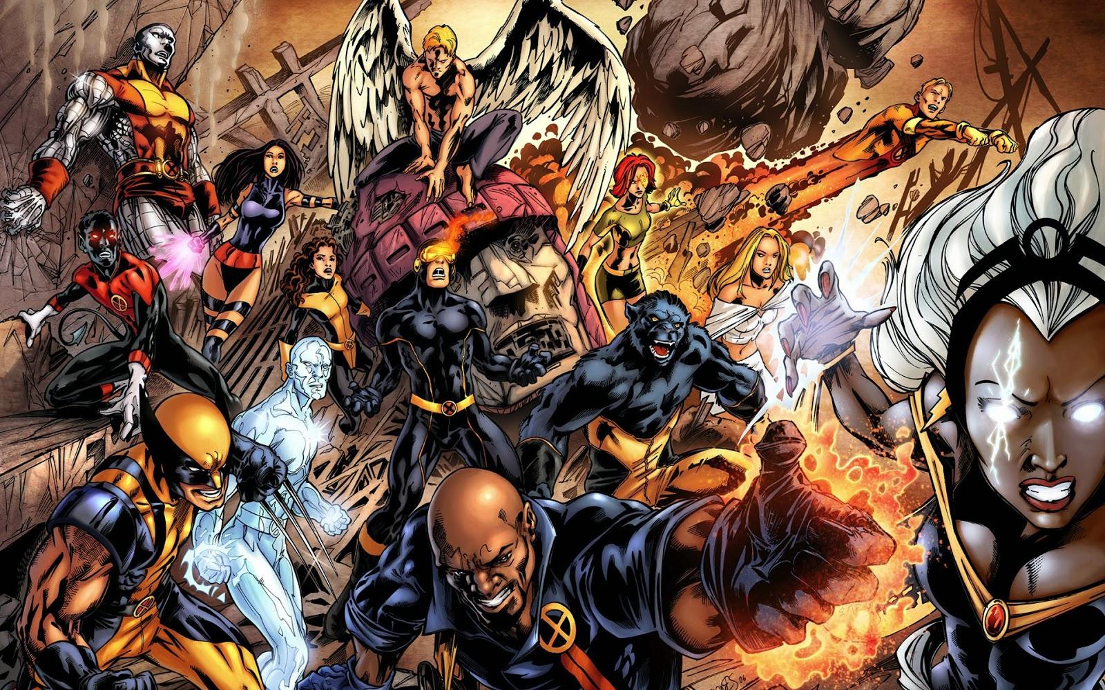 X-men, xmen, mutantes, fox, serie, marvel, el zorro con gafas, lobezno