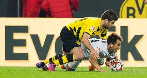 Borussia Dortmund vs. FSV Mainz 05 4-2 Highlight Goal Bundesliga 13-02-2015