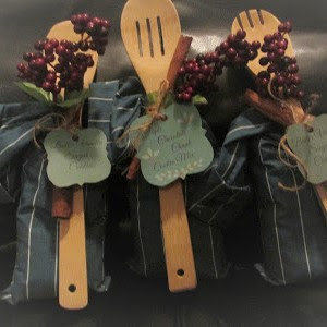 Country Fair Blog Party Blue Ribbon Winner: Vickie's Kitchen and Garden's Sugar Cookie Sacks