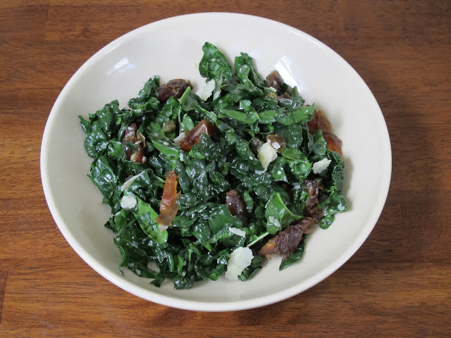 Kale, Date, and Parmesan Salad