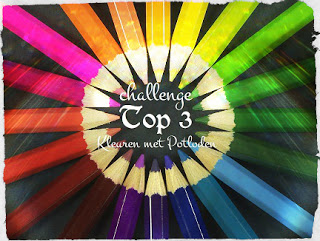 Top 3 kleuren met potloden