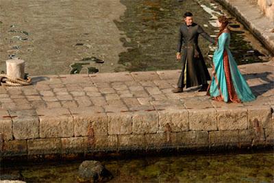Petyr y Ross rodaje tercera temporada Juego de Tronos - Juego de Tronos en los siete reinos