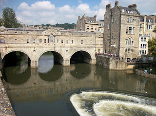 Bath in the summer