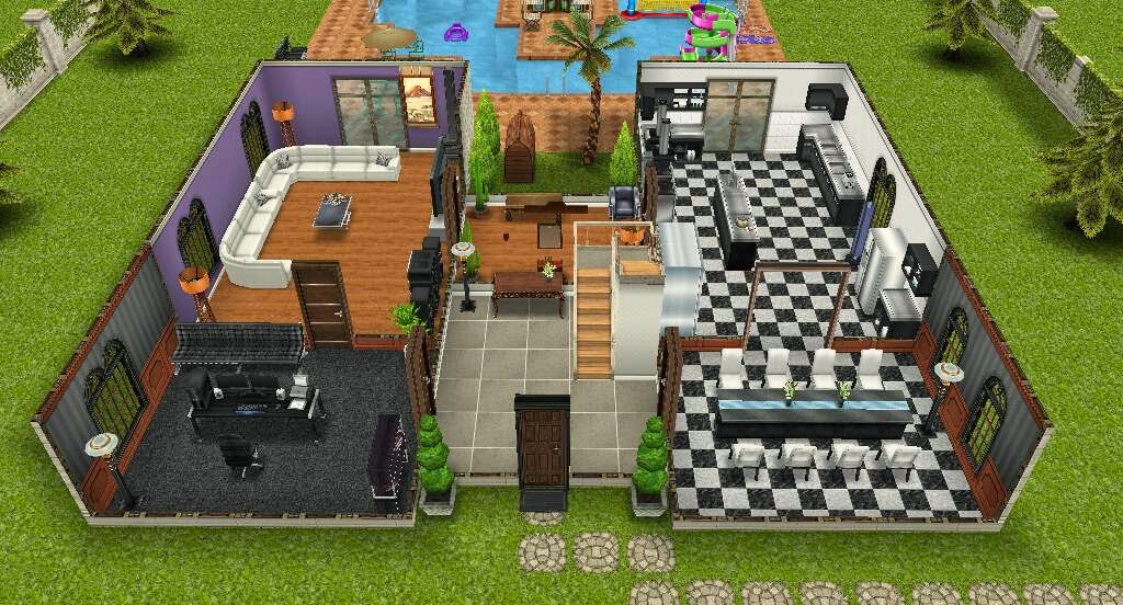 The sims freeplay mans o de dolo adolescente for Casa de diseno the sims freeplay