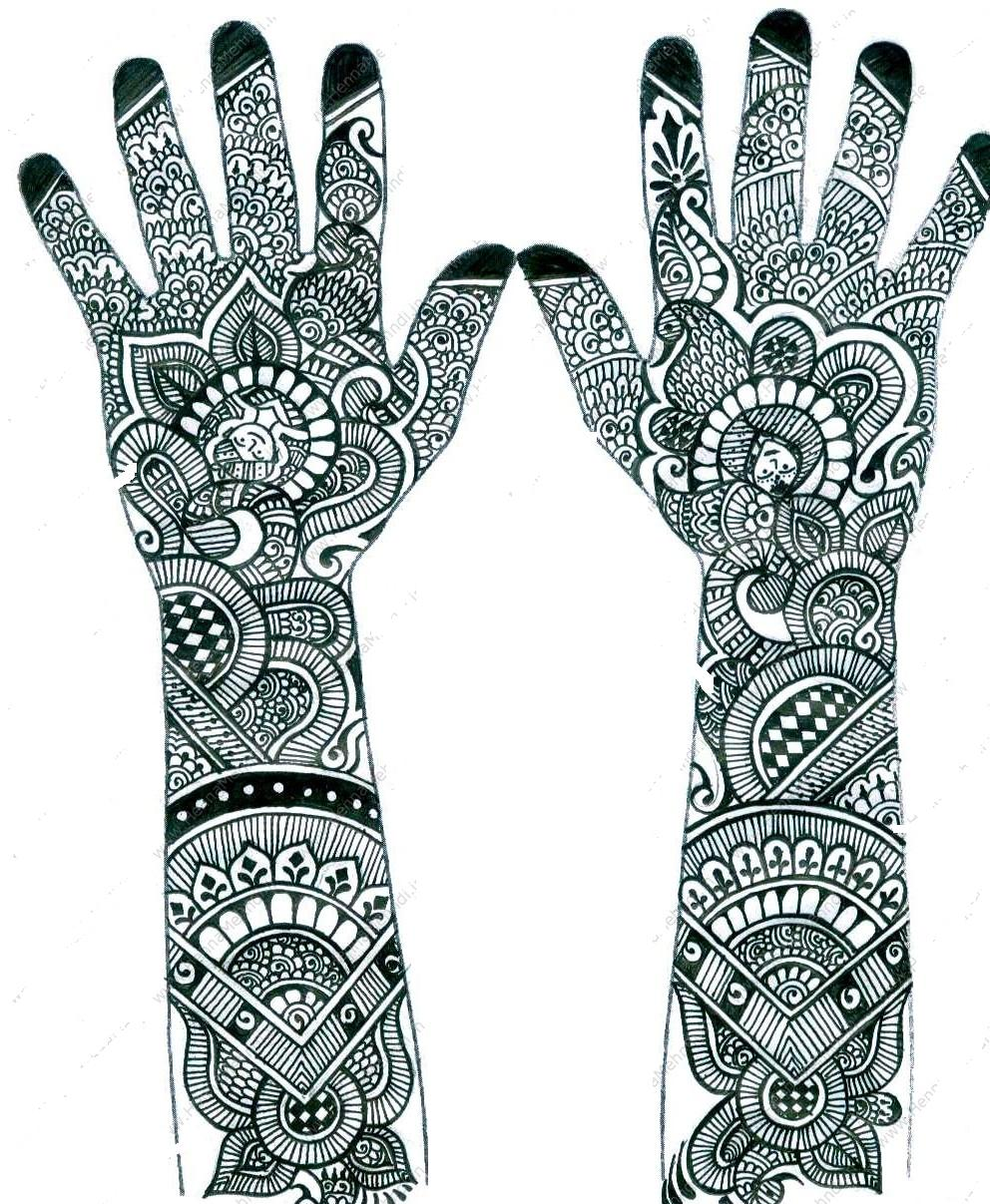 18 Fashion Henna Mehndi Design Patterns
