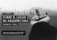 CONFERENCIA SOBRE EL LUGAR EN ARQUITECTURA