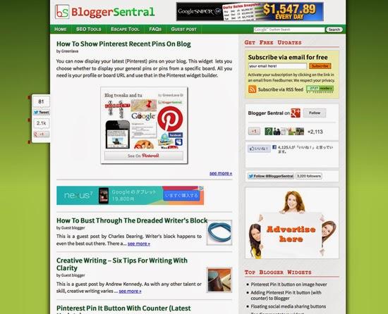 BloggerSentral