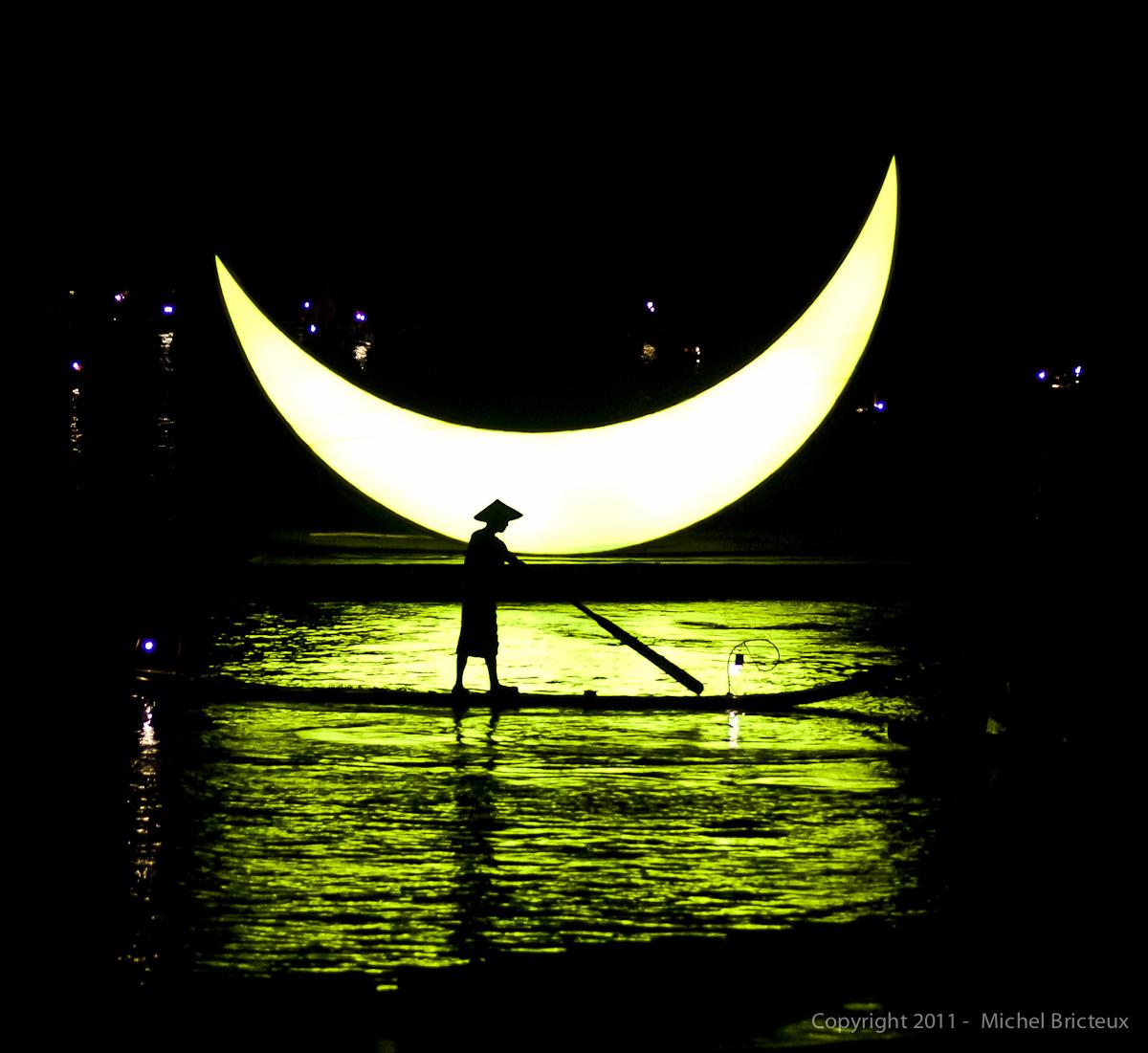Pêcheur de Lune en Chine du Sud