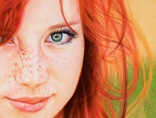 Ballpoint Pen Red Head2