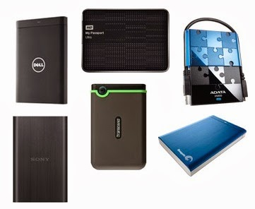 Lowest Price Offer on External Hard Disk: Dell Backup Plus 1TB USB 3.0 for Rs.3699 | Western Digital 1TB USB 3.0 for Rs.3779 at Flipkart