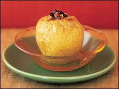 Manzana al horno para bajar de peso