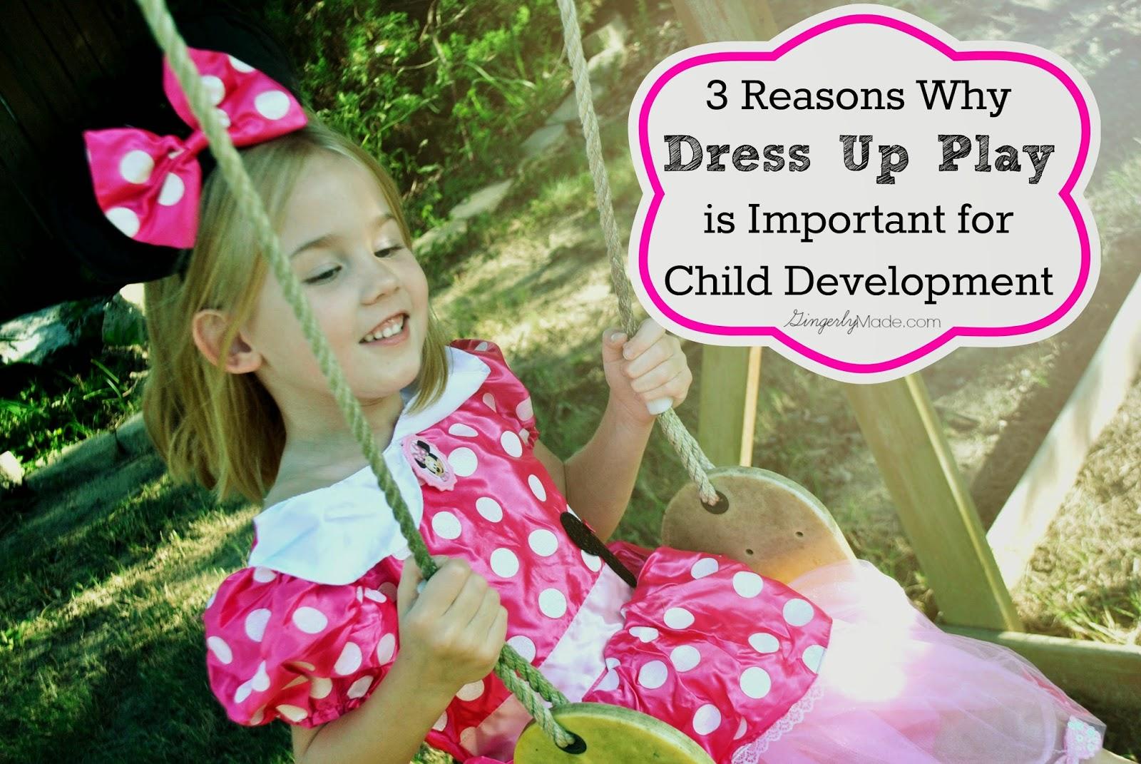 Dress Up Play Child Development