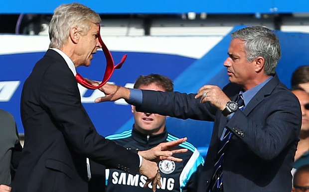 Beating Arsenal & Wenger is not a big deal - Mourinho boasts