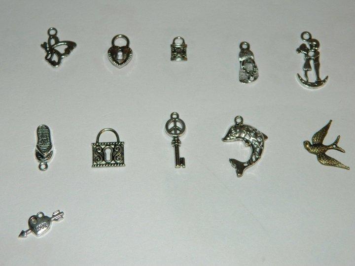 Productos artesanales adornos para collar pulseras pendientes colgador de m vil - Colgadores de pendientes ...