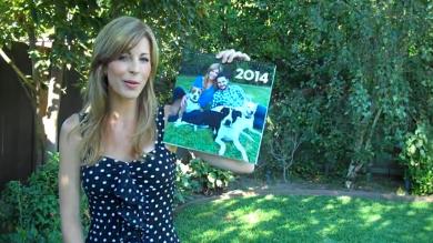 Celebrity Pet Adoption Calendar 2014 - cover