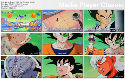 "Download Film / Anime Dragon Ball Kai Episode 34 ""Kejutan! Goku adalah Ginyu dan Ginyu adalah Goku"" Bahasa Indonesia"