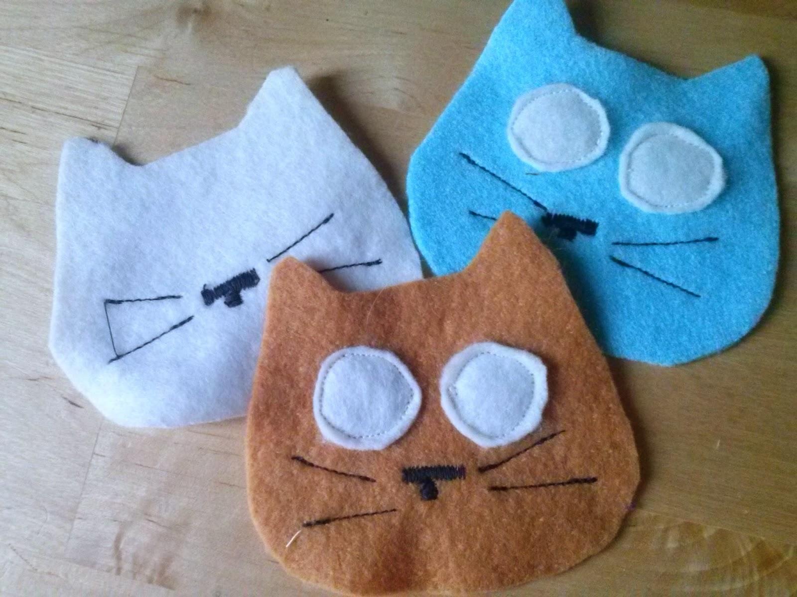 Schemi di pensieri animali tutorial gatti di feltro for Gatti in pannolenci