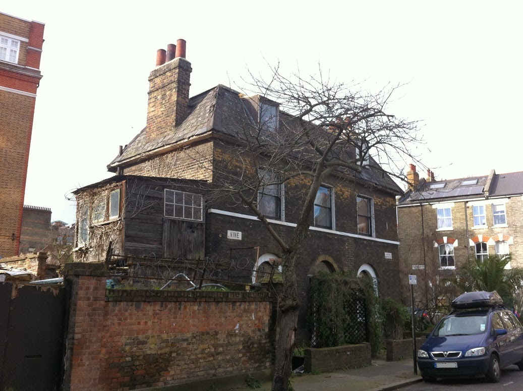 Old House in Vauxhall Grove, London