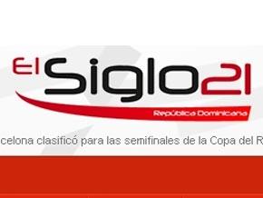 Fuera de línea el portal elsiglo21.com.do cuyas instalaciones fueron allanadas hoy por las autoridades