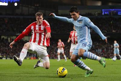 Manchester City 3 - 0 Stoke City (2)