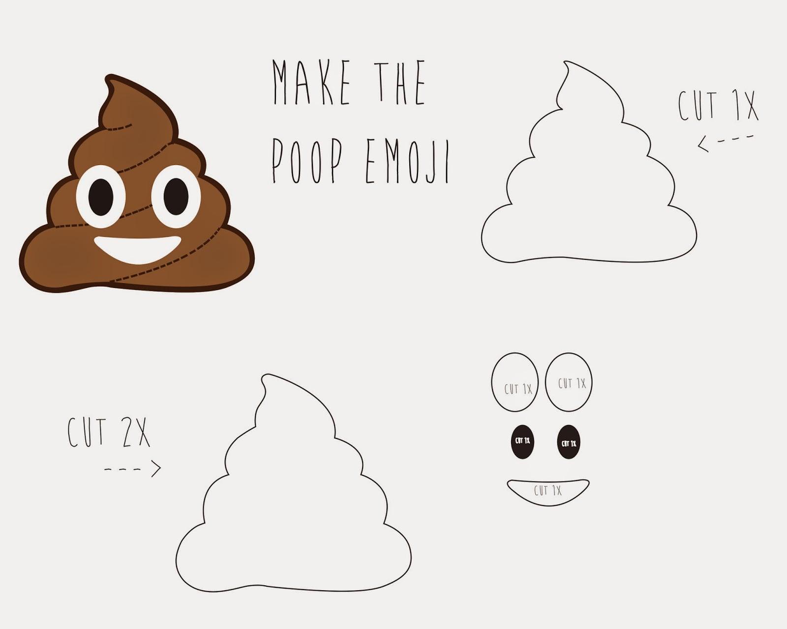 HAPPY NEW YRS GUYS Run With Fashion - Poop emoji template