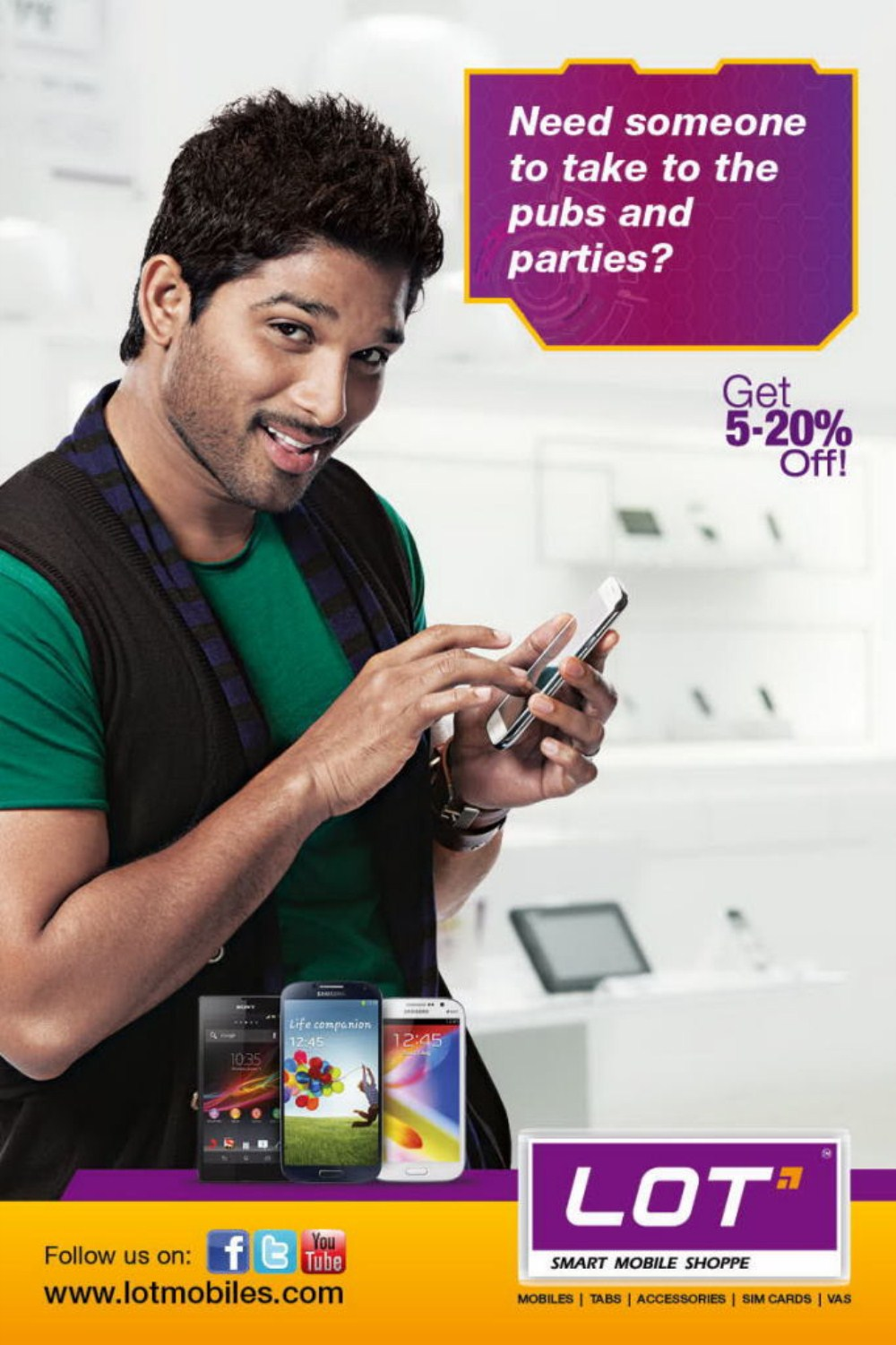 ... alu Arjun is endorsing this product, These are the latest Posters and