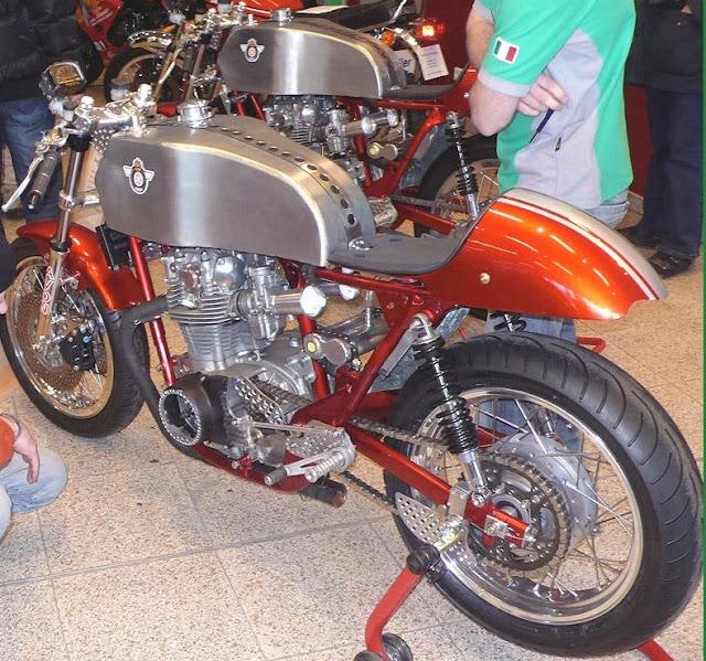 Amazing Horex Motorcycle cafe racers.Deutsch Café Racer - 1955 HOREX 500 ~ Grease n Gasoline Cafe Fighters & Cafe Racers