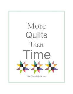 More Quilts than time free printable