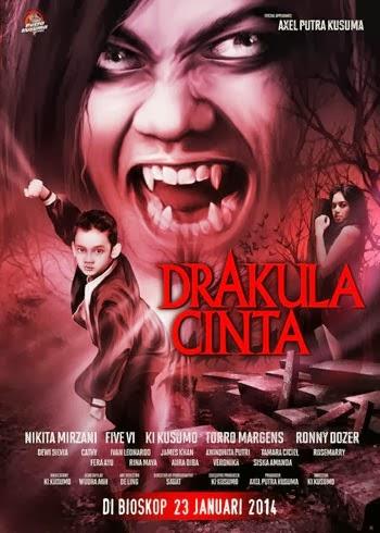 Sinopsis Film Drakula Cinta (2014) :