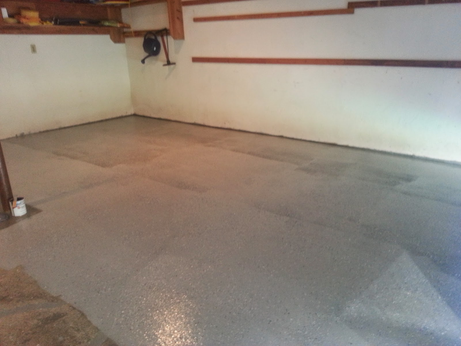 EpoxyShield Garage Floor Project, Part 5