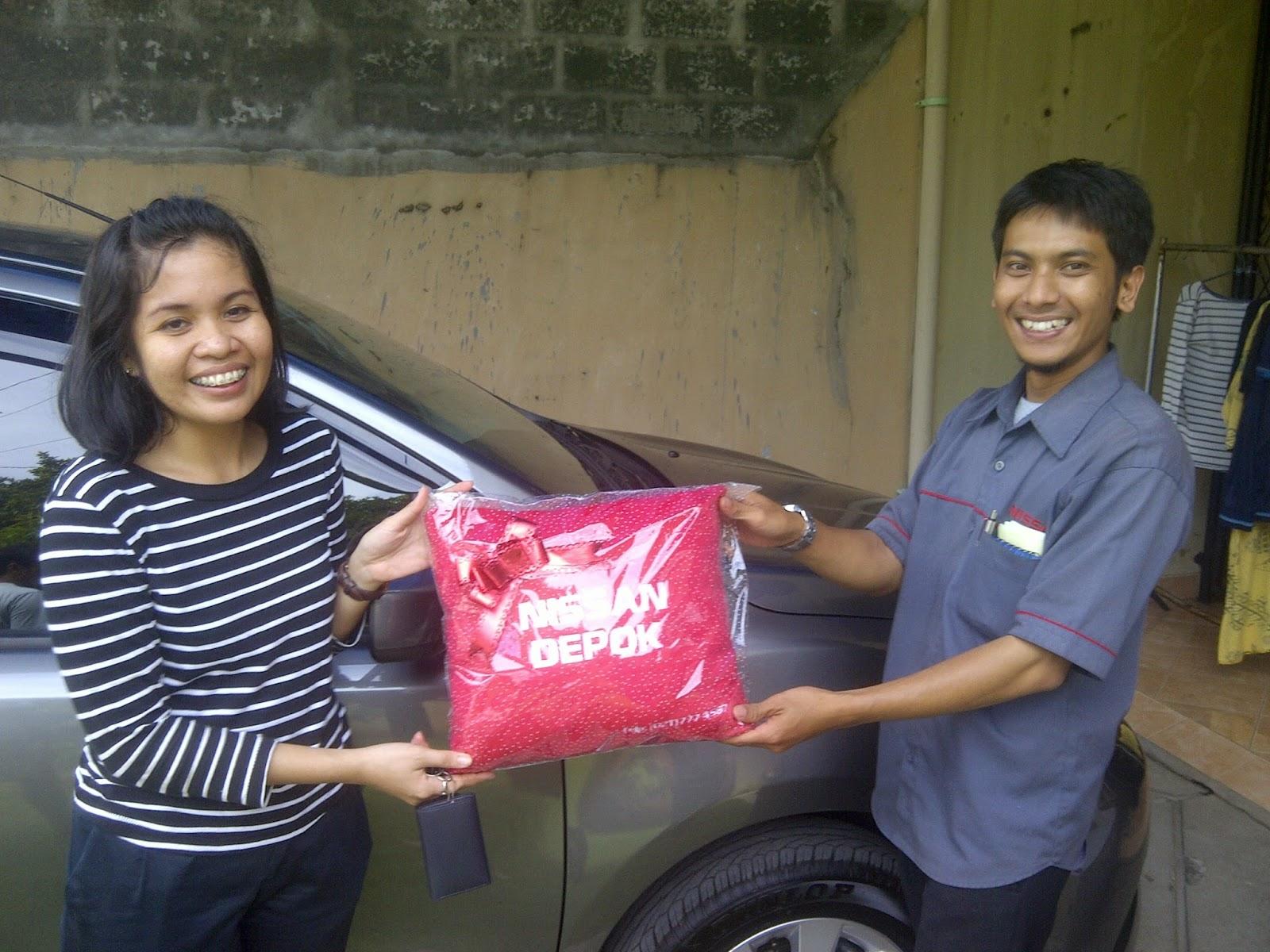Terimakasih atas kepercayaan Kak Ervina yang telah membeli Grand Livina CVT melalui media www.touchnissan.com.  Semoga Berkah ya Kak...