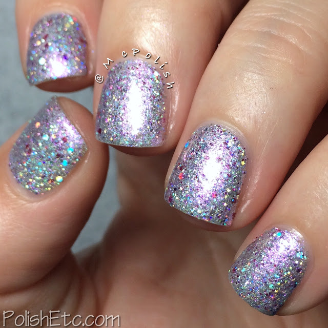Glam Polish - Think Pink Trio - McPolish - Crystal Couture