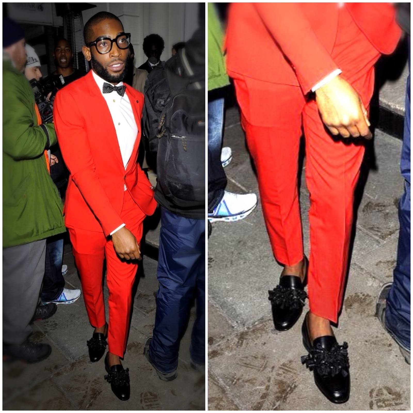 00O00 London Menswear Blog Tinie Tempah's Christian Louboutin Tasselissimo loafers - GQ dinner, #LondonCollections