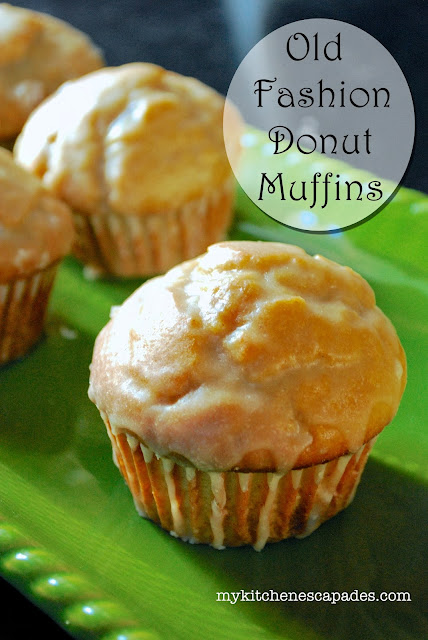 Old Fashioned Donut Muffins - easy breakfast muffin recipe