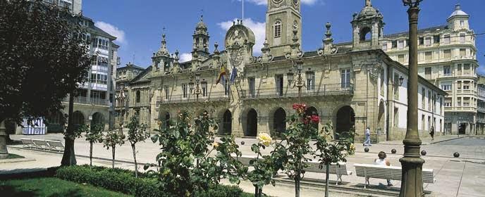 La Plaza Mayor de Lugo