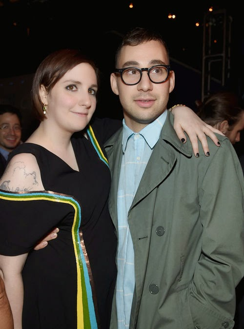 Engaged? Lena Dunham clears up the confusion of the ring
