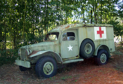 Medic Truck at 57th Fighter Group Restaurant near PDK